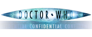 Doctor Who Confidential logo (with banner)