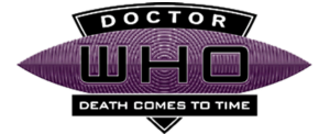 Death Comes To Time logo (black)