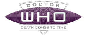 Death Comes To Time logo (white)